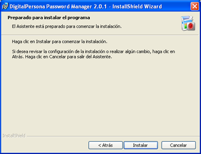 AjpdSoft Descarga e instalación de DigitalPersona Password Manager 2.0