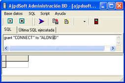 Instalación de Oracle Database 11g Standard Edition en Windows XP Profesional - Crear usuario Oracle