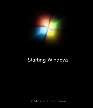 Instalar Microsoft Windows 7 Ultimate Beta 1 - Cargando el asistente en modo gráfico