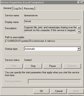 Instalar Windows XP Professional for Asus EEE PC - Servicio LanManServer