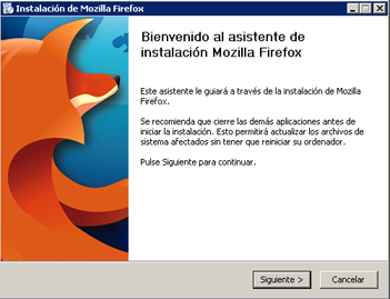 Instalar Windows XP Professional for Asus EEE PC - instalación Mozilla Firefox
