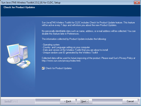 AjpdSoft Instalación de Sun Java Wireless Toolkit 2.5.2_01