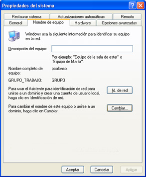 Agregar un equipo cliente con XP al dominio de Windows Server 2003 con Active Directory