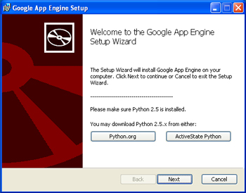 AjpdSoft Google App Engine - Instalación de SDK de Google App Engine