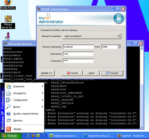 Servidor X de Linux para Windows mediante PuTTY y Xming