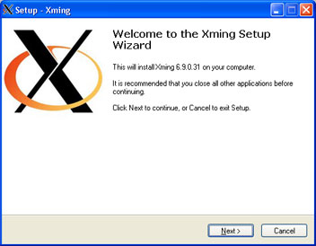 Xming servidor X para Windows mediante SSH y GNU Linux - Descarga Xming